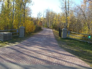 300 feet Driveway on Acreage in Holland Paver