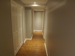 Hallway finished